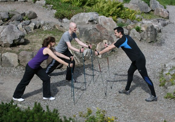 Nordic Walking rund um Essen | Physiotherapie Christian Hill