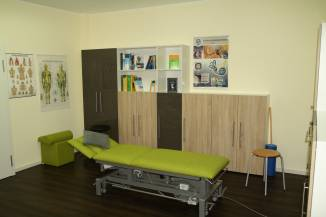 Behandlungsraum | Physiotherapie Christian Hill