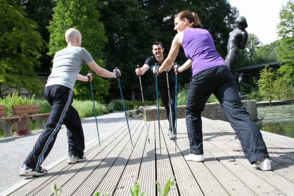 Nordic Walking | Physiotherapie Christian Hill