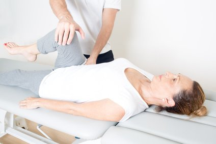 Passive Bewegungsübung | Physiotherapie Christian Hill
