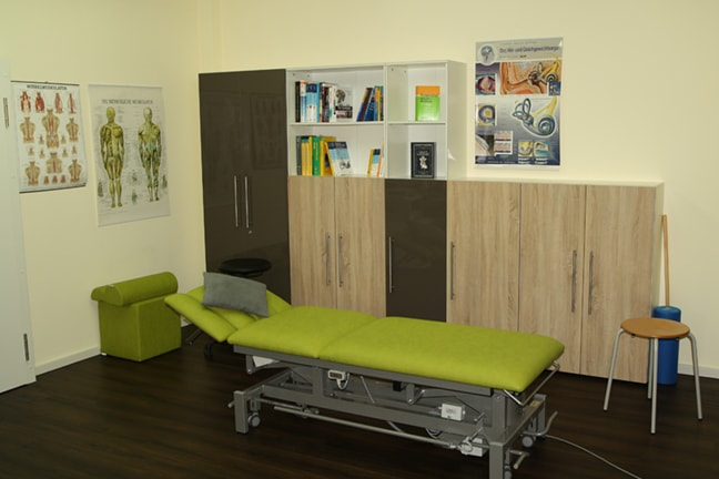 Behandlungsraum | Physiotherapie Christian Hill Essen