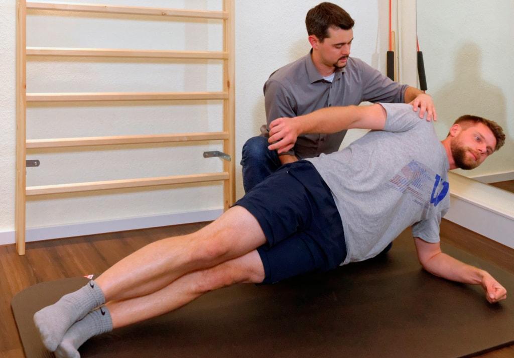aktive Kräftigungsübungen | Physiotherapie Christian Hill