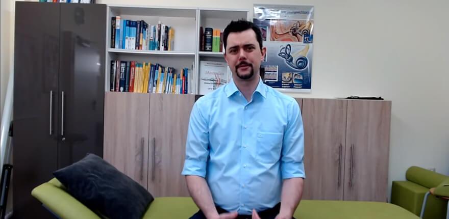 Videosprechstunde Physiotherapie